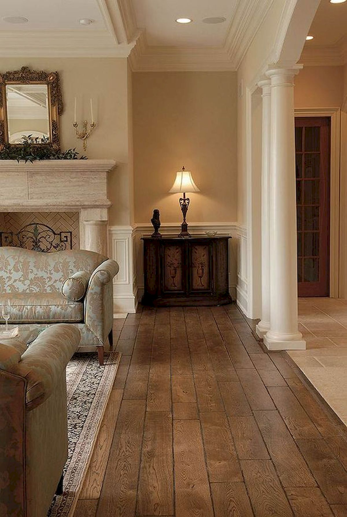 80 Gorgeous Hardwood Floor Ideas For Interior Home (4)