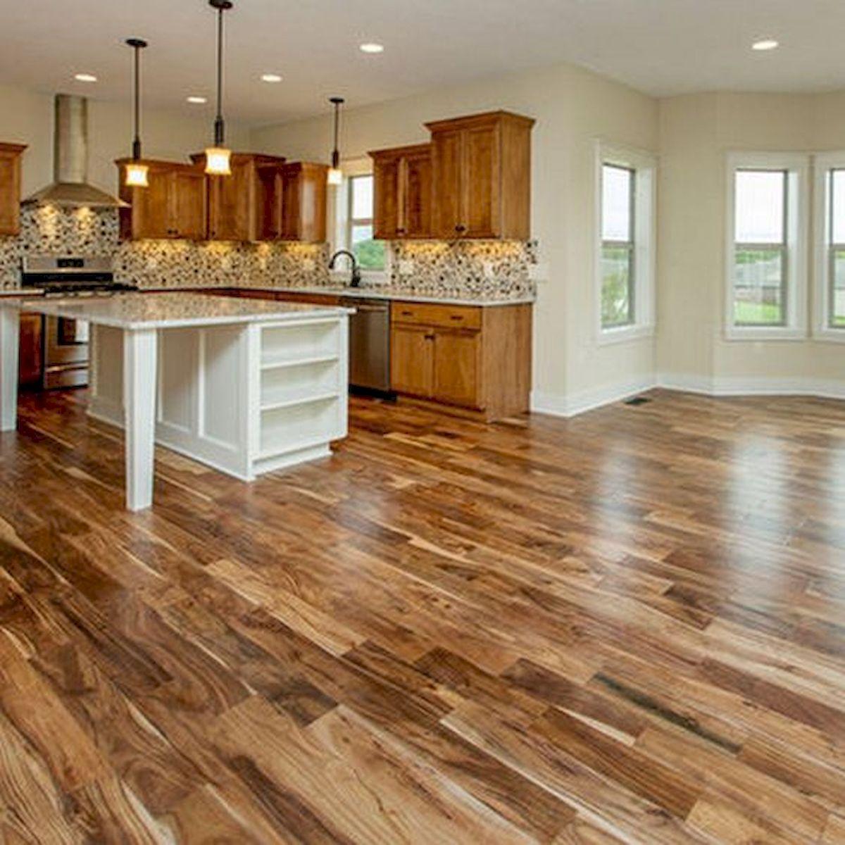 80 Gorgeous Hardwood Floor Ideas for Interior Home (44)