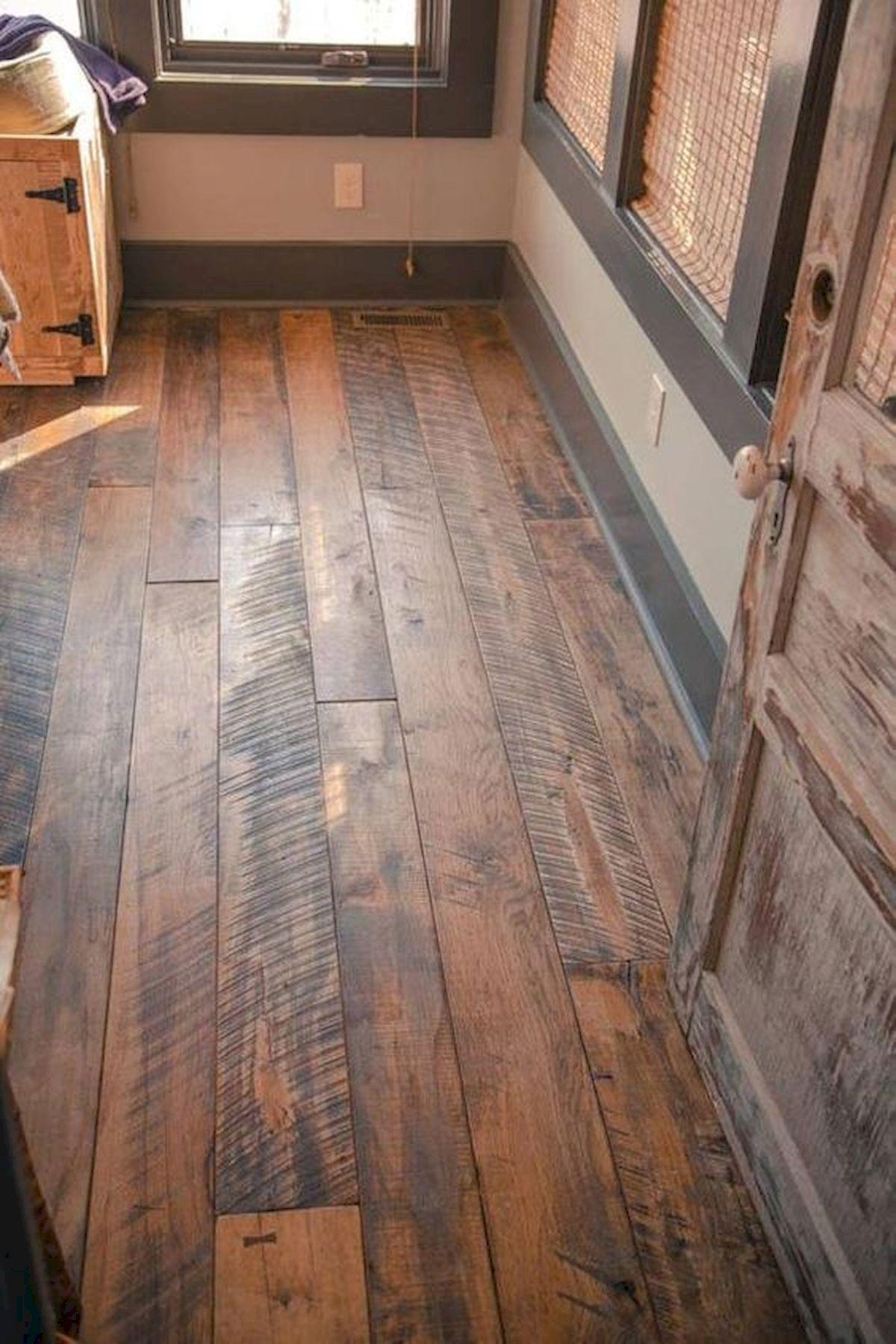 80 Gorgeous Hardwood Floor Ideas for Interior Home (5)