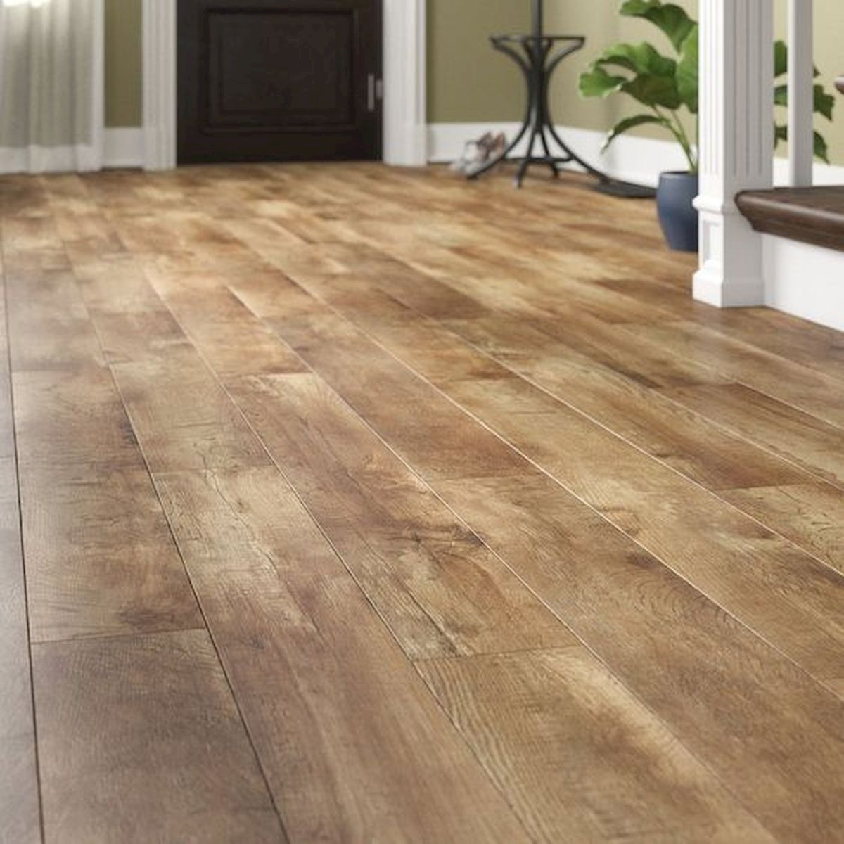 80 Gorgeous Hardwood Floor Ideas For Interior Home (59)