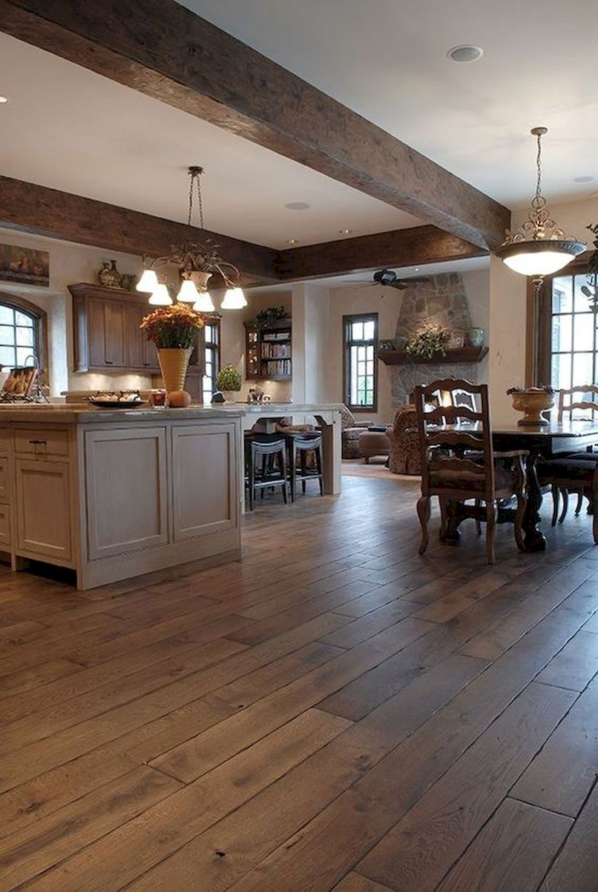 80 Gorgeous Hardwood Floor Ideas for Interior Home (6)