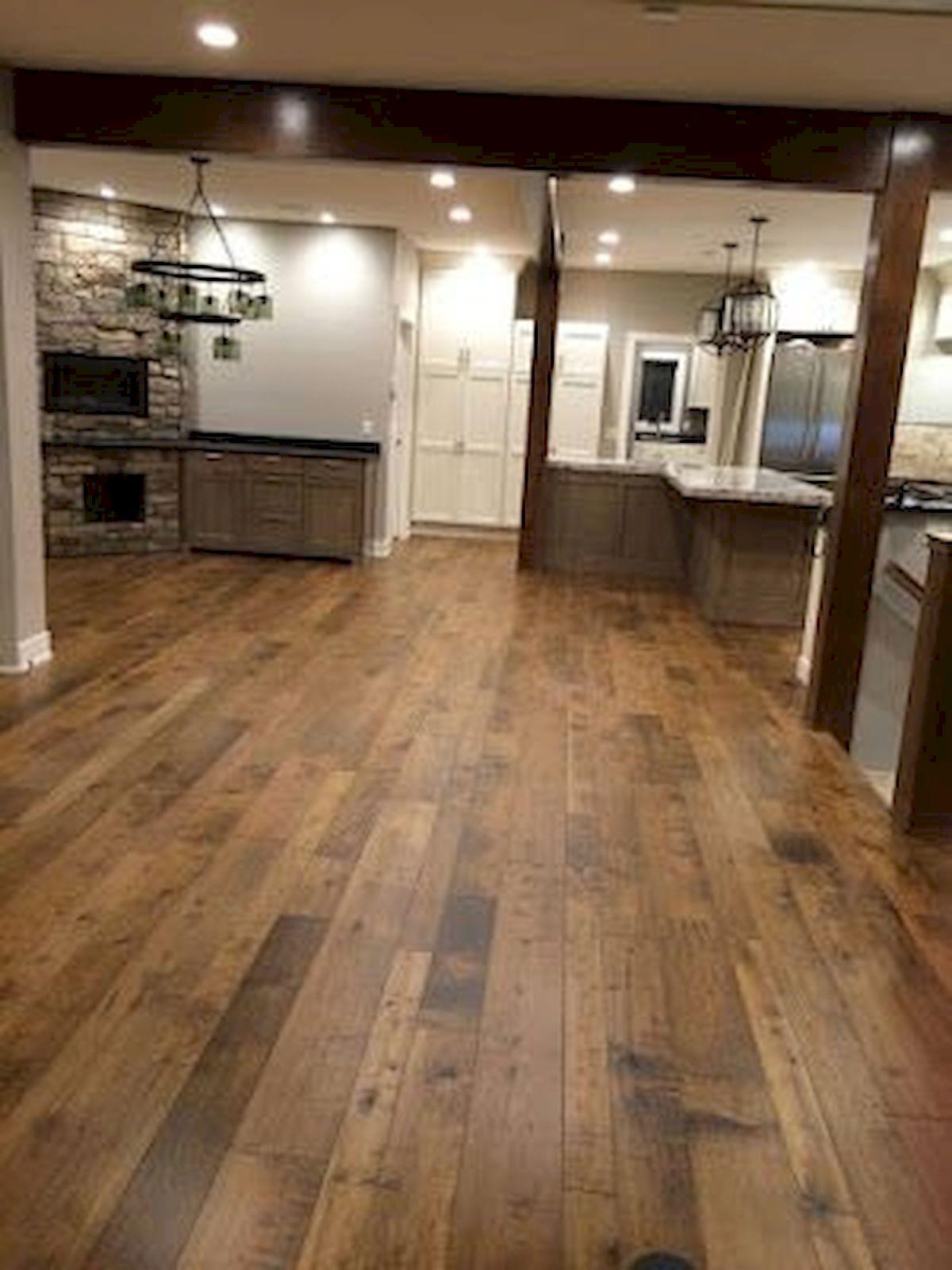 80 Gorgeous Hardwood Floor Ideas for Interior Home (60)