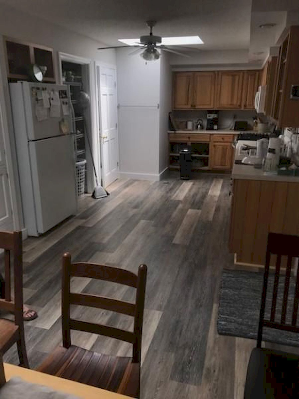 80 Gorgeous Hardwood Floor Ideas for Interior Home (62)