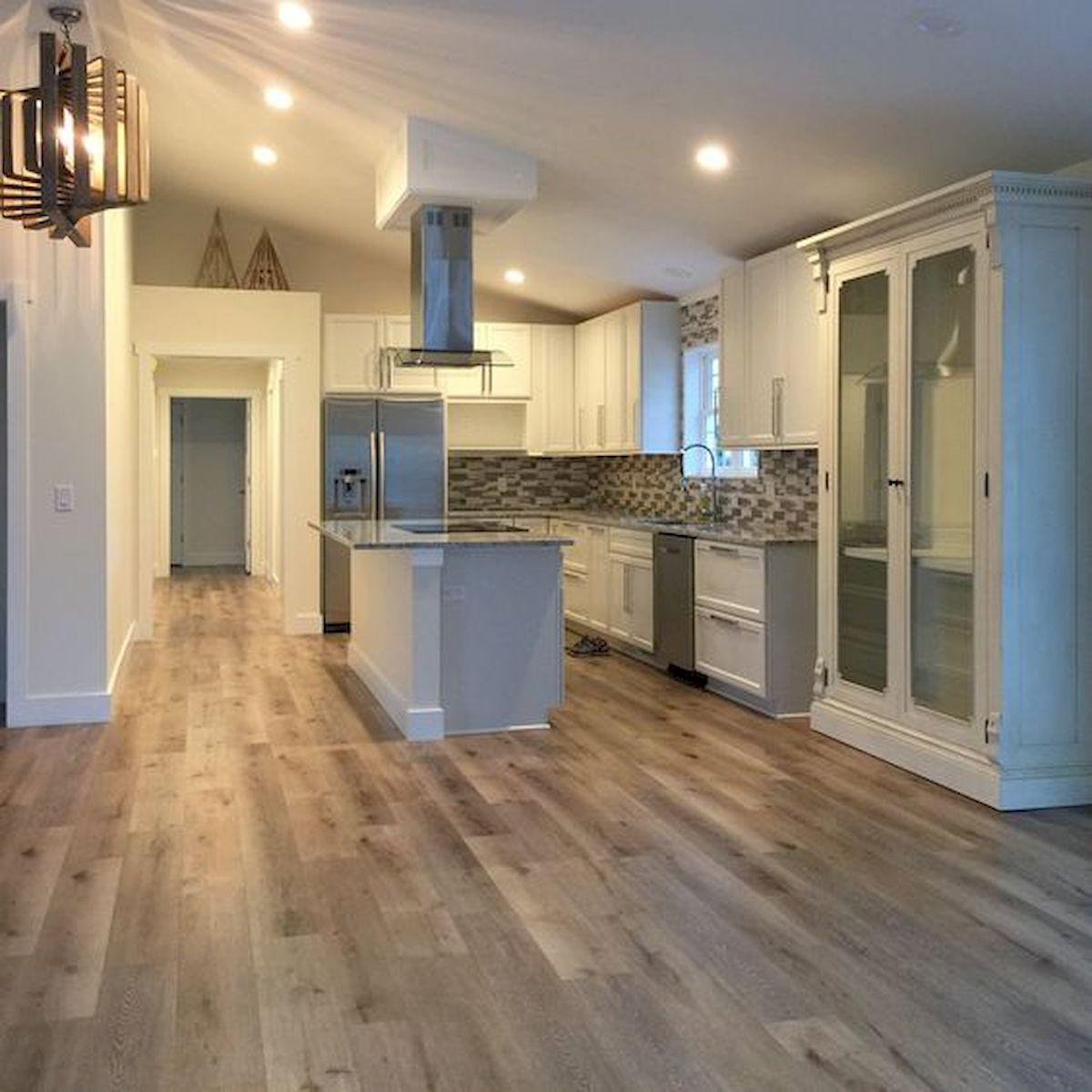 80 Gorgeous Hardwood Floor Ideas for Interior Home (71)