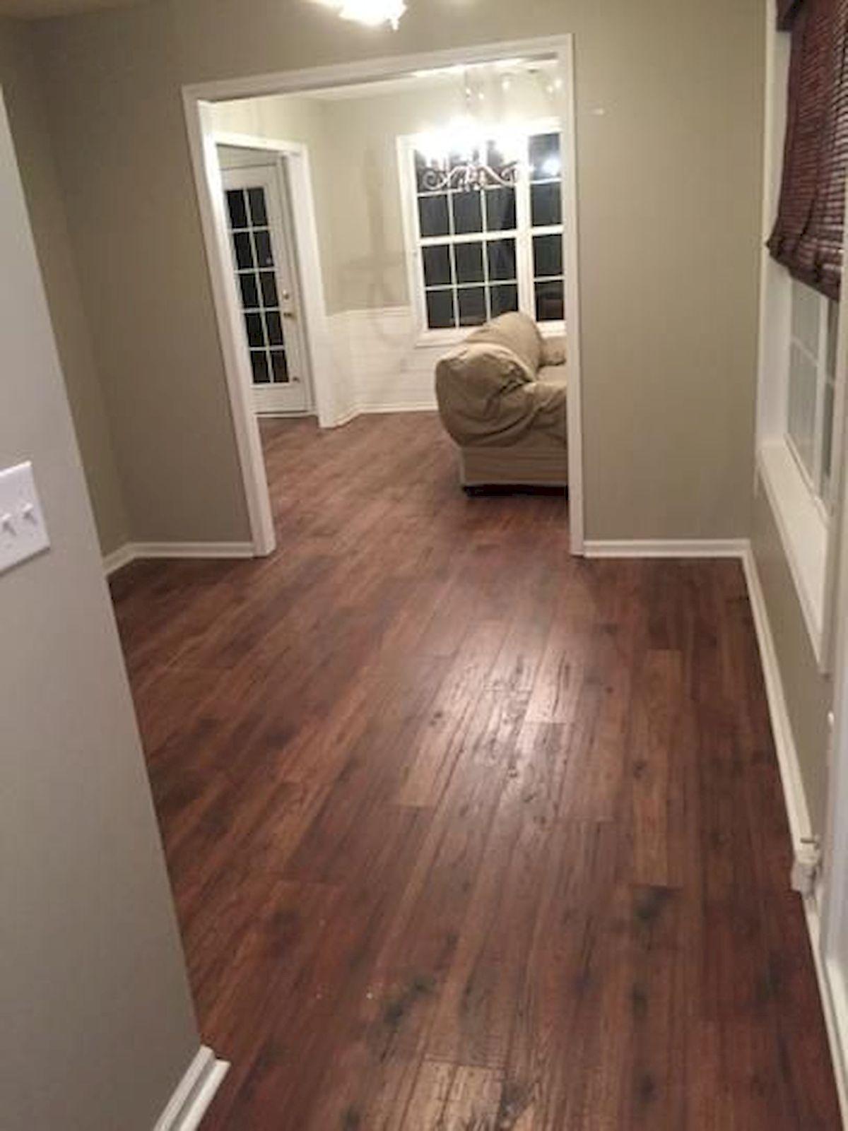 80 Gorgeous Hardwood Floor Ideas for Interior Home (72)