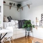 45 Awesome Small Apartment Bedroom Design and Decor Ideas (42)