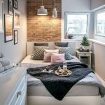 45 Awesome Small Apartment Bedroom Design and Decor Ideas (45)