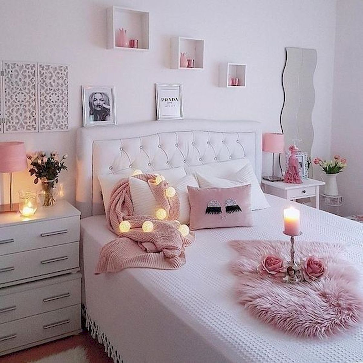 45 Beautiful Bedroom Decor Ideas for Teens (45)
