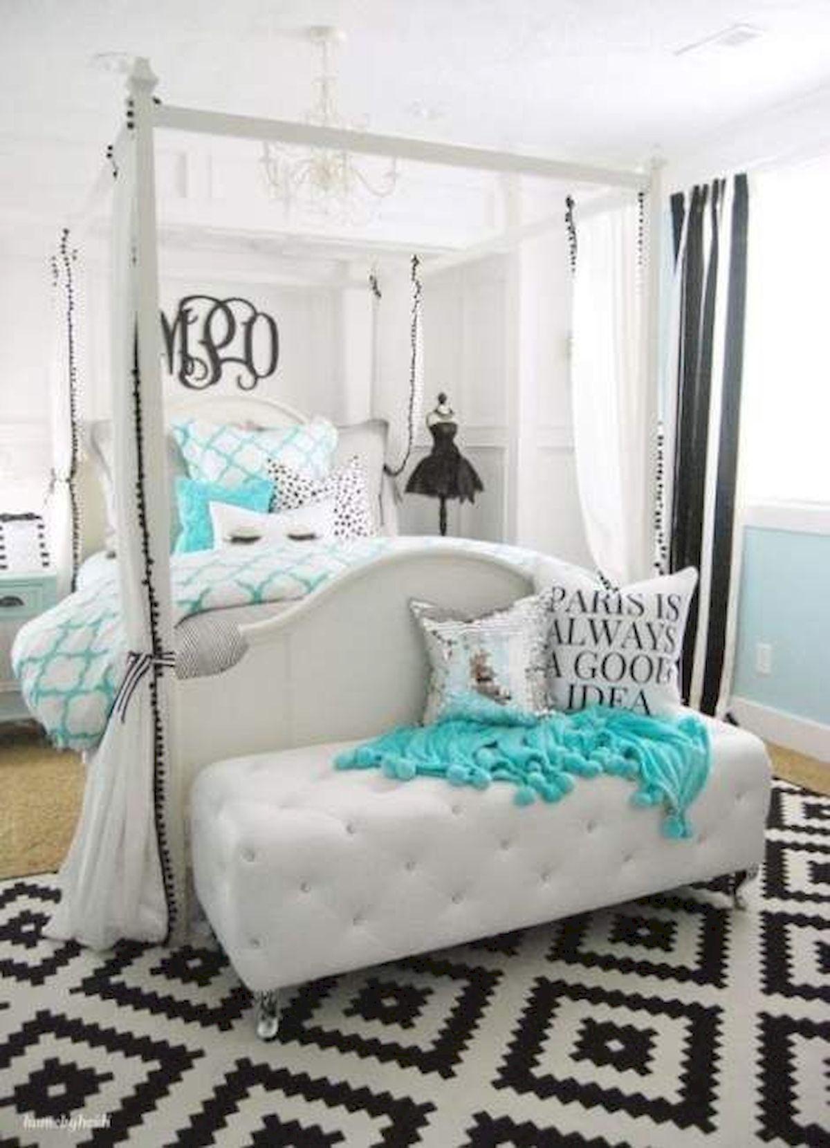 45 Beautiful Bedroom Decor Ideas for Teens (9)