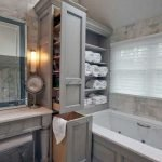 50 Brilliant Storage Design Ideas for Small Bathroom To Make It Look Spacious (14)