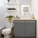 50 Brilliant Storage Design Ideas for Small Bathroom To Make It Look Spacious (17)