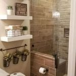 50 Brilliant Storage Design Ideas for Small Bathroom To Make It Look Spacious (18)