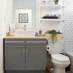 50 Brilliant Storage Design Ideas for Small Bathroom To Make It Look Spacious (25)