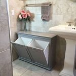 50 Brilliant Storage Design Ideas for Small Bathroom To Make It Look Spacious (27)