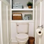 50 Brilliant Storage Design Ideas for Small Bathroom To Make It Look Spacious (32)