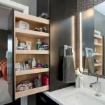 50 Brilliant Storage Design Ideas for Small Bathroom To Make It Look Spacious (33)
