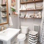 50 Brilliant Storage Design Ideas for Small Bathroom To Make It Look Spacious (36)
