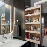 50 Brilliant Storage Design Ideas for Small Bathroom To Make It Look Spacious (38)