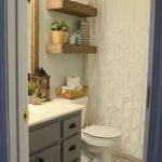 50 Brilliant Storage Design Ideas for Small Bathroom To Make It Look Spacious (39)
