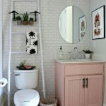 50 Cozy Bathroom Design Ideas for Small Space in Your Home (16)