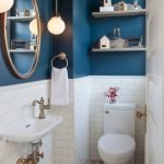 50 Cozy Bathroom Design Ideas for Small Space in Your Home (39)