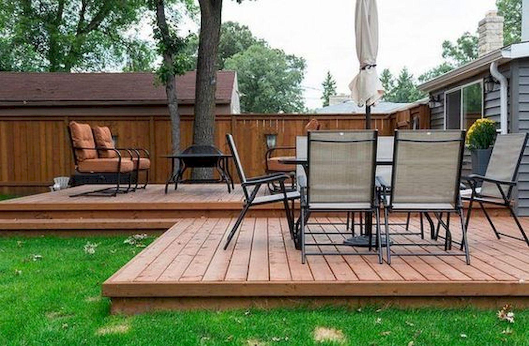 Backyard Deck Design Ideas Tosmun
