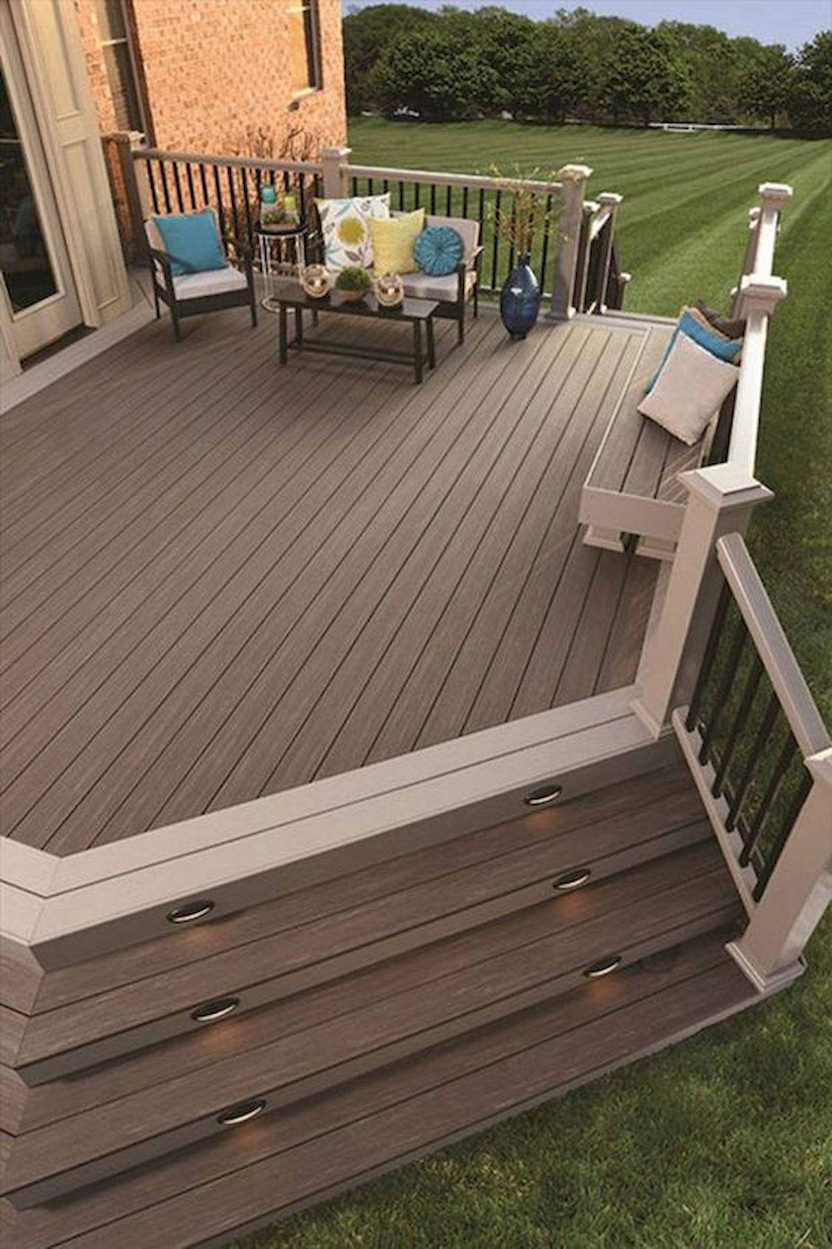 50 Fantastic Backyard Patio and Decking Design Ideas (15)