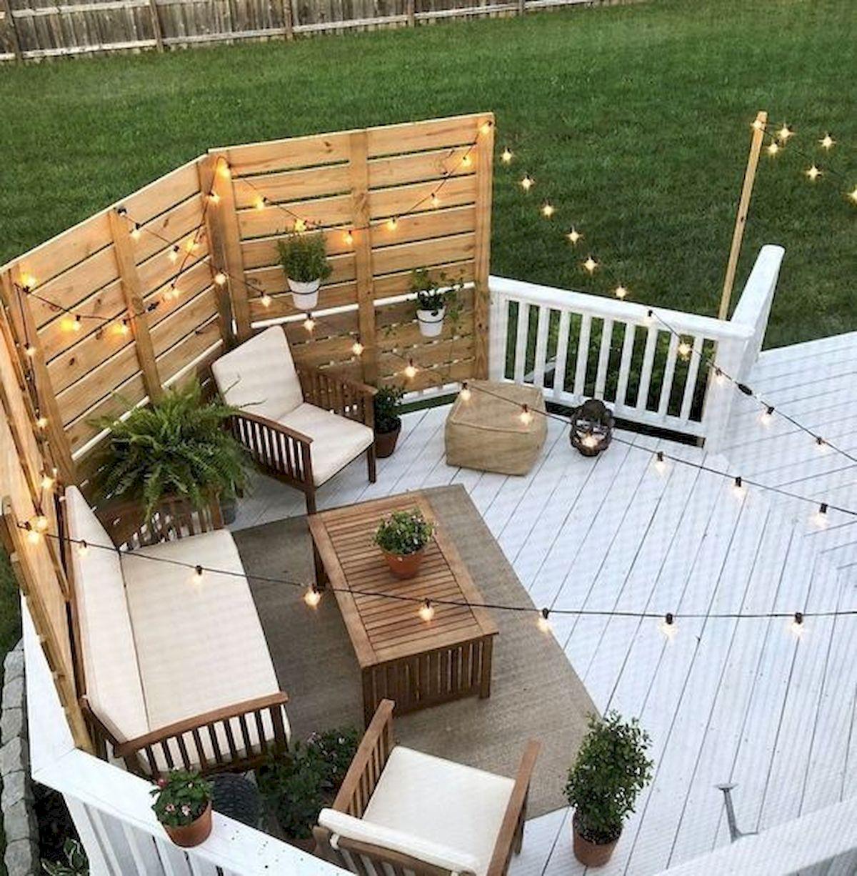 50 Fantastic Backyard Patio and Decking Design Ideas (22)