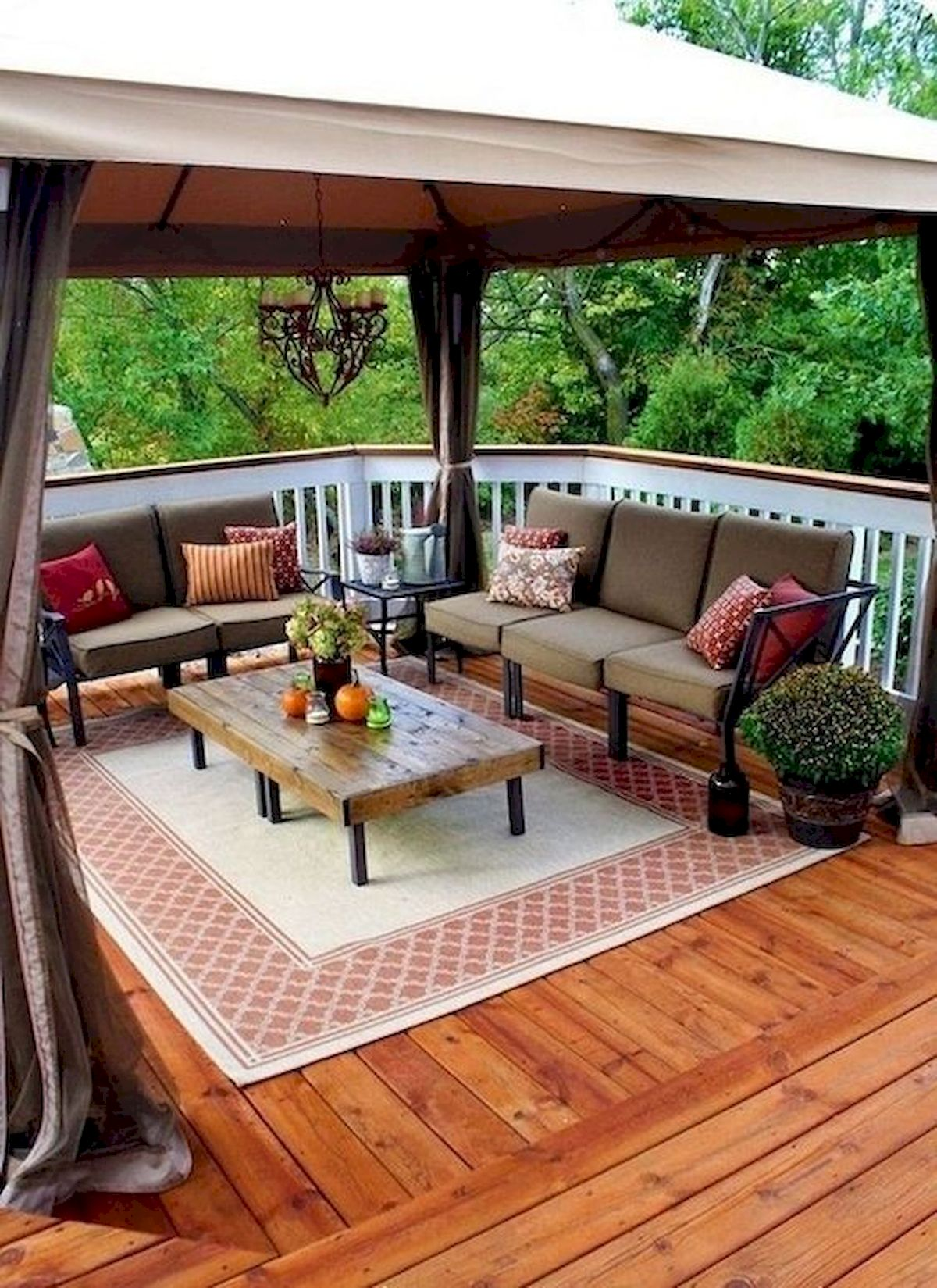 50 Fantastic Backyard Patio And Decking Design Ideas (3)