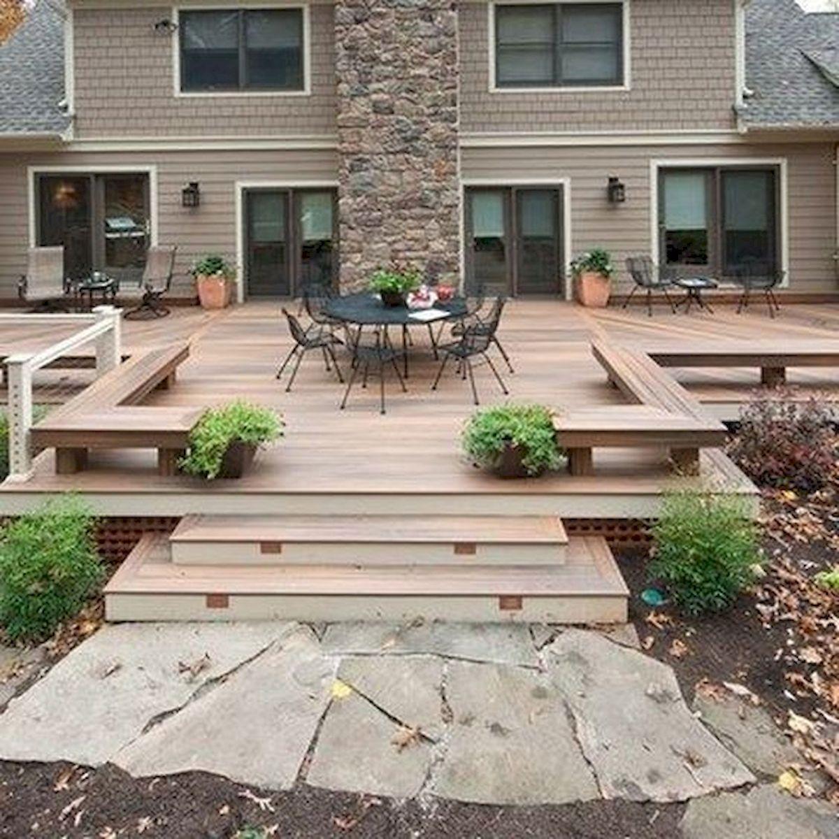 50 Fantastic Backyard Patio and Decking Design Ideas (38)