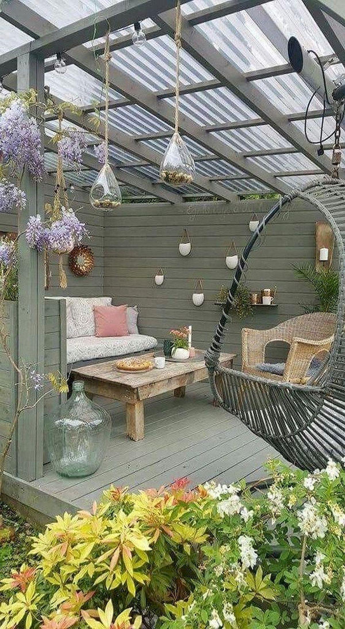 50 Fantastic Backyard Patio and Decking Design Ideas (40)