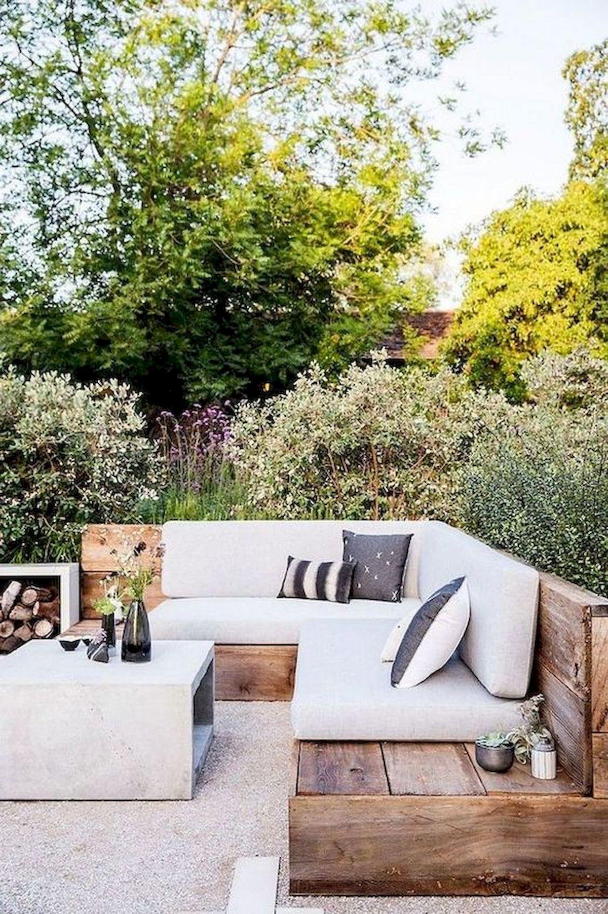 50 Fantastic Backyard Patio and Decking Design Ideas (41)