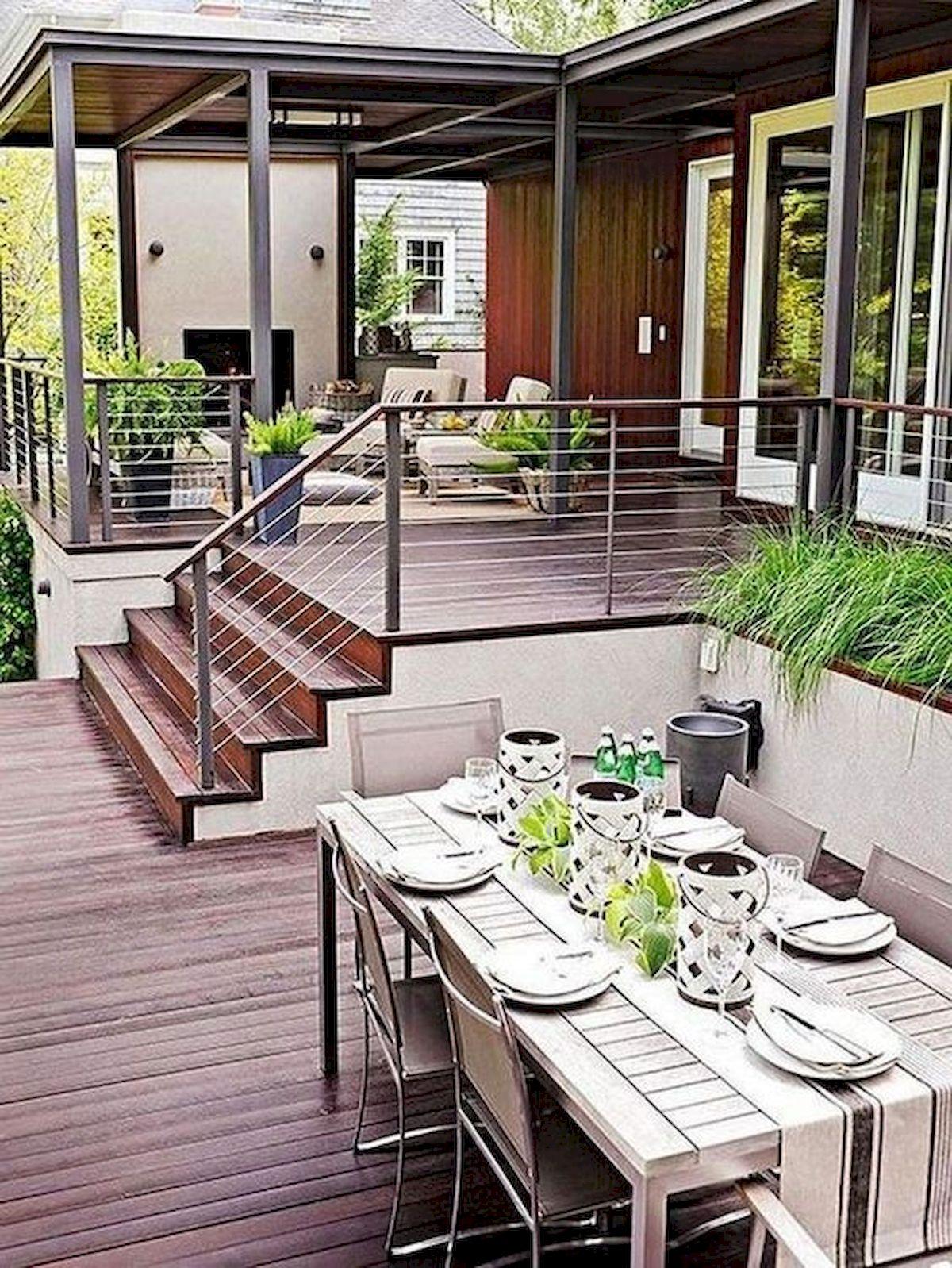 50 Fantastic Backyard Patio and Decking Design Ideas (44)