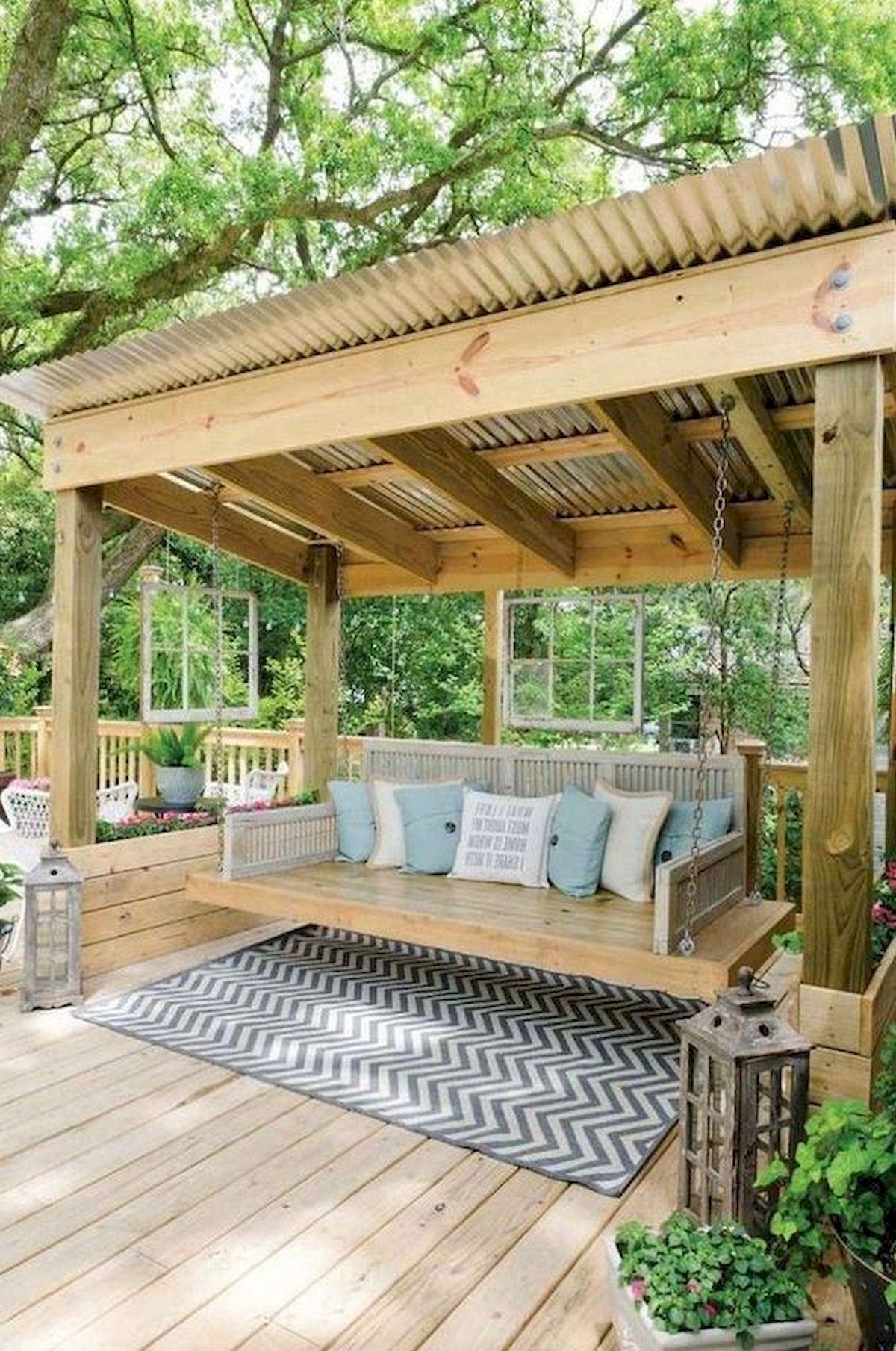 50 Fantastic Backyard Patio and Decking Design Ideas (45)