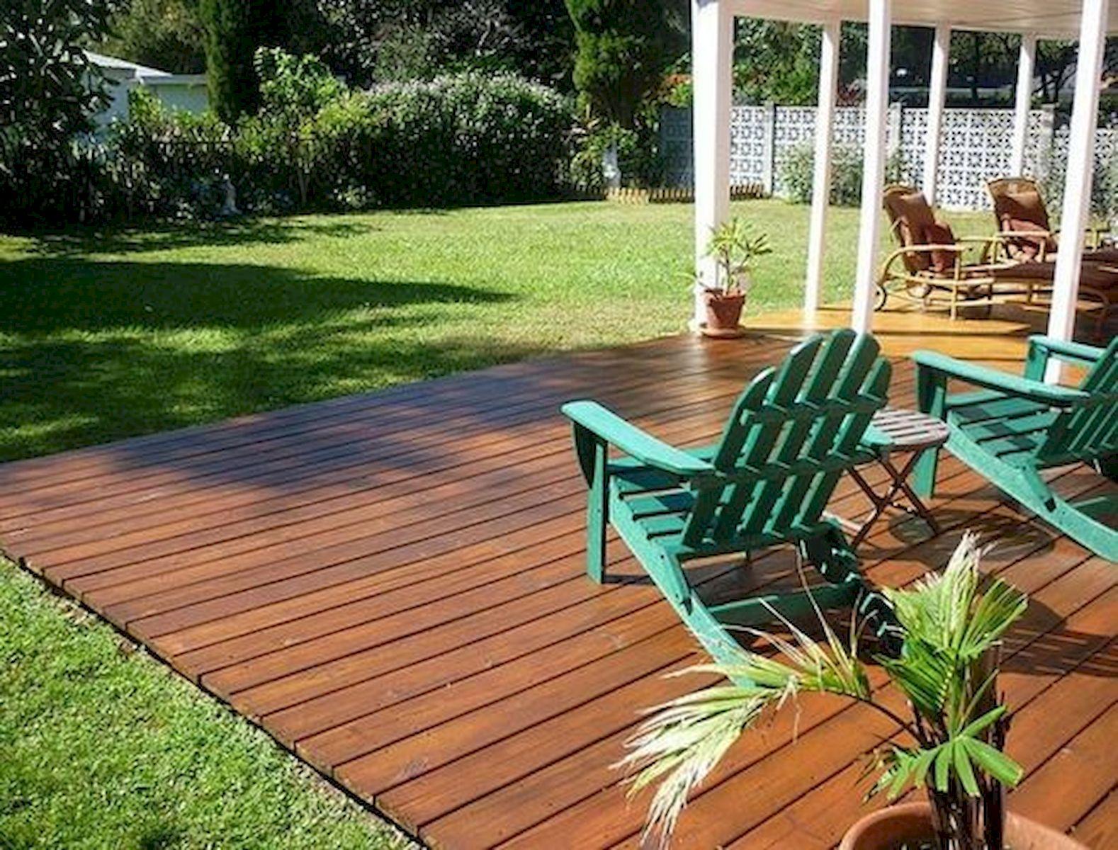 50 Fantastic Backyard Patio and Decking Design Ideas (47)