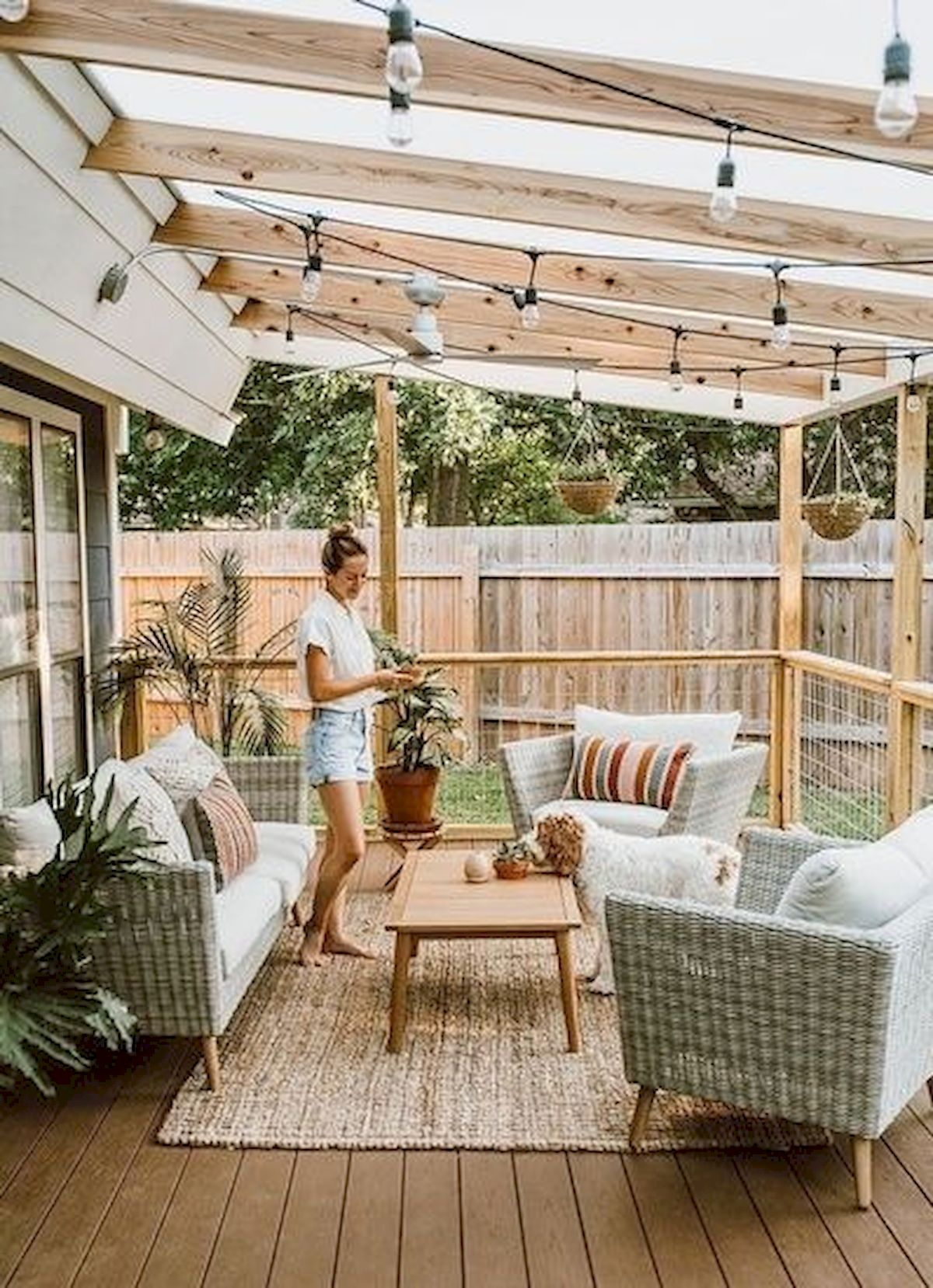 50 Fantastic Backyard Patio and Decking Design Ideas (51)