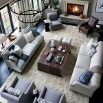 55 Awesome Furniture Living Room Table Design Ideas (15)