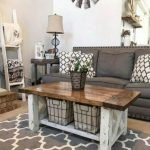 55 Awesome Furniture Living Room Table Design Ideas (17)