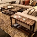 55 Awesome Furniture Living Room Table Design Ideas (40)