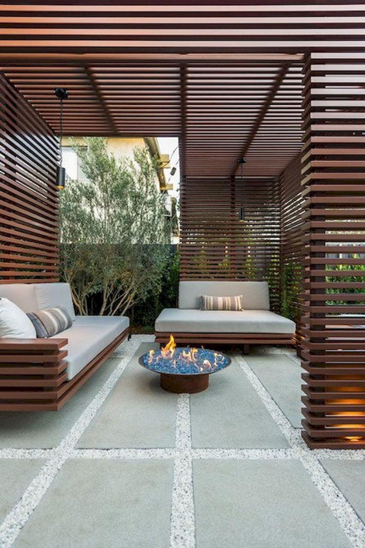 60 Awesome Backyard Privacy Design and Decor Ideas (21)