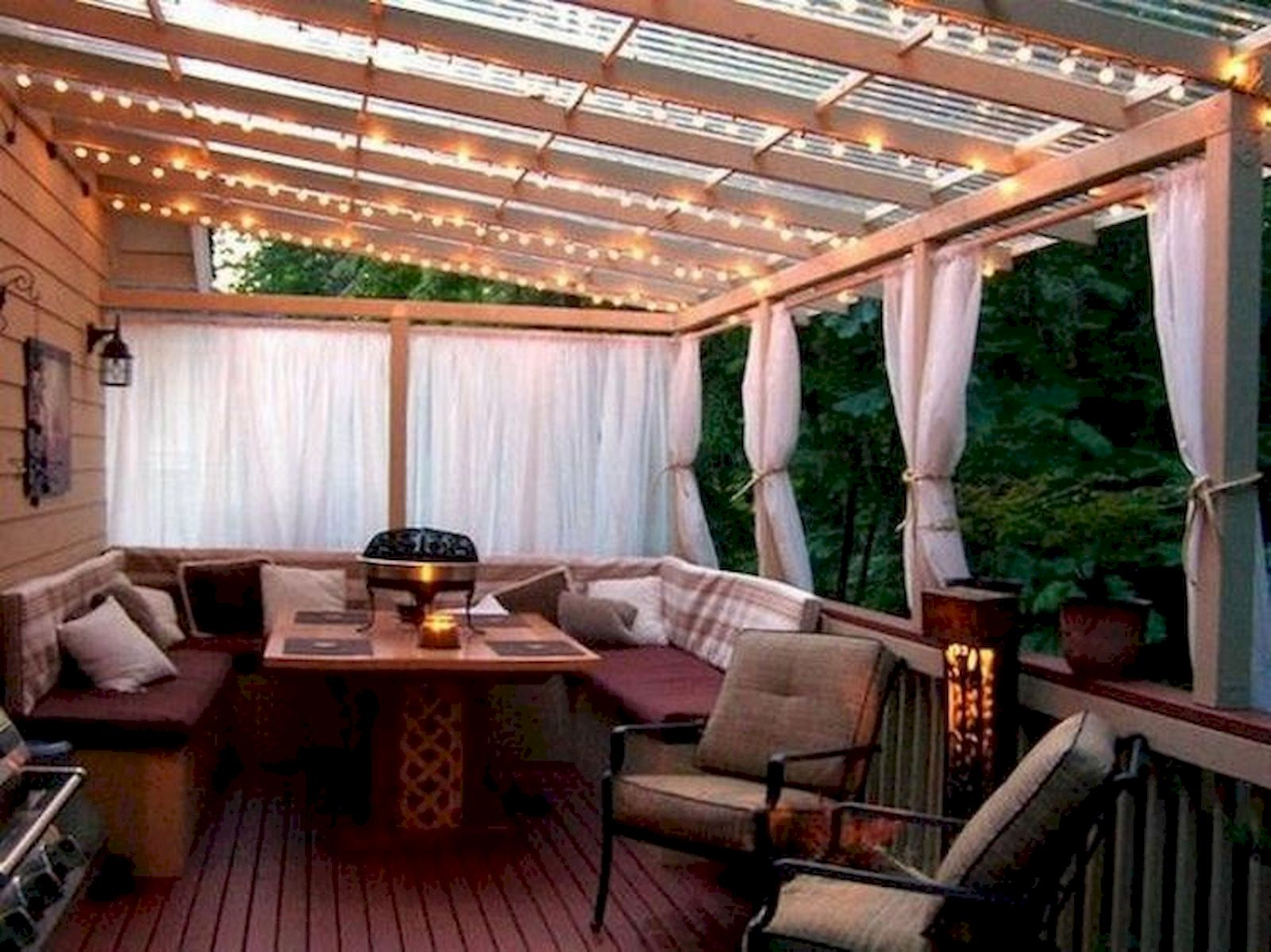 60 Awesome Backyard Privacy Design and Decor Ideas (24)