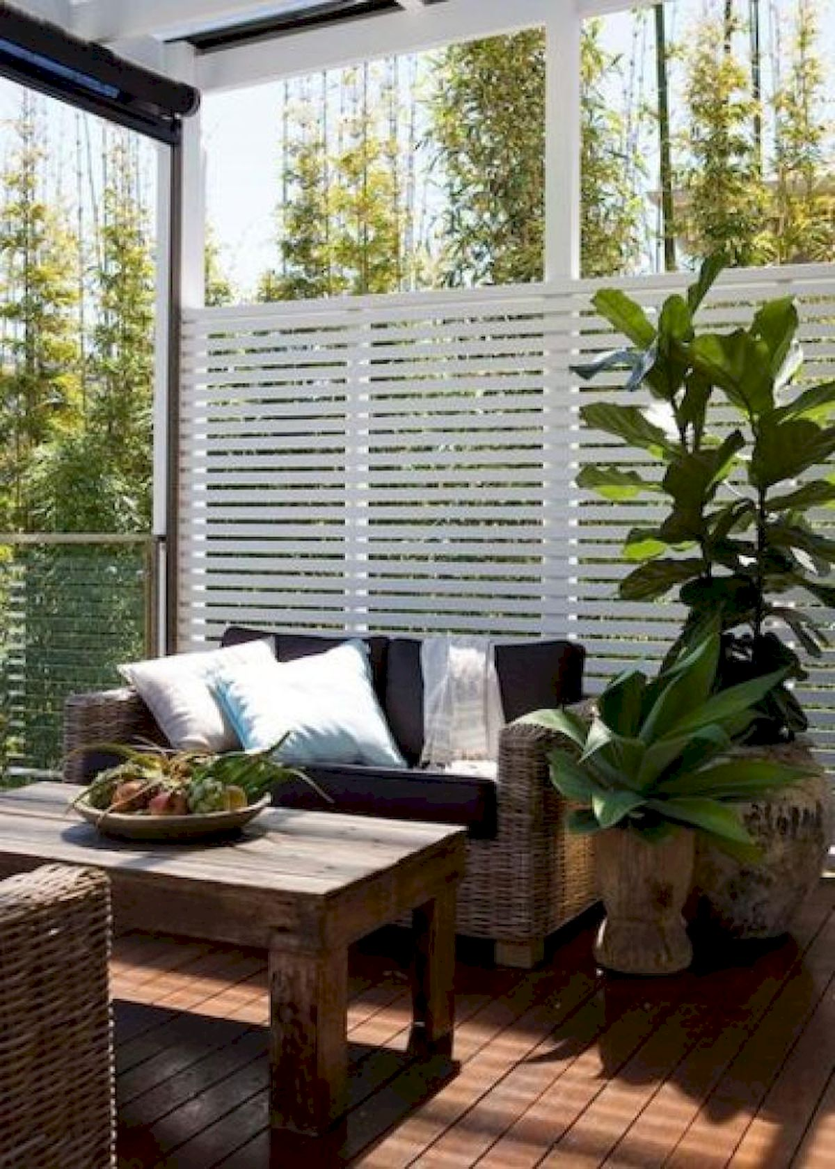 60 Awesome Backyard Privacy Design and Decor Ideas (26)