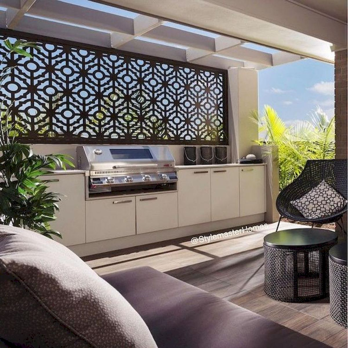 60 Awesome Backyard Privacy Design and Decor Ideas (3)