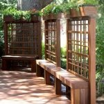 60 Awesome Backyard Privacy Design And Decor Ideas (48)