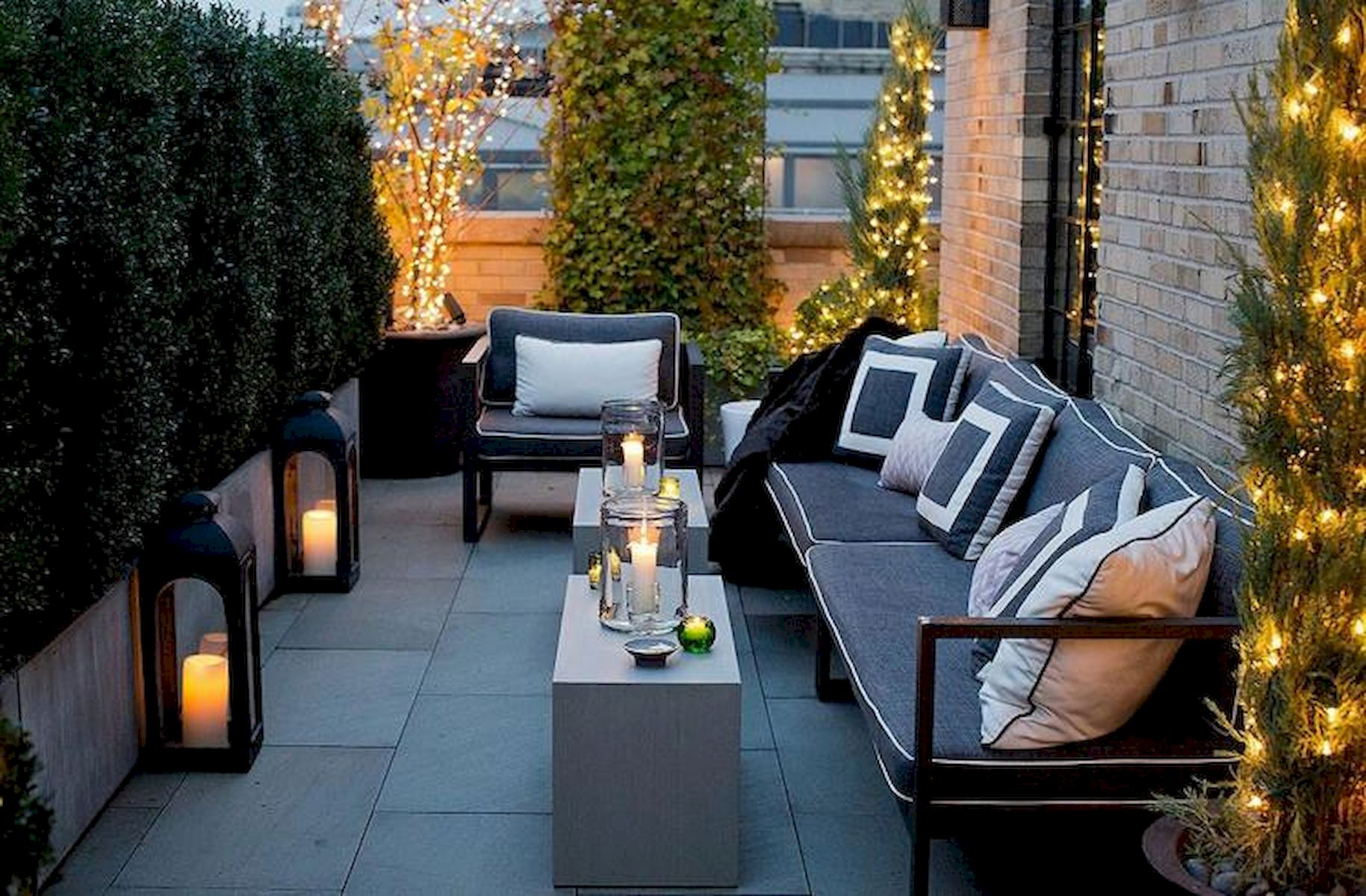 60 Awesome Backyard Privacy Design and Decor Ideas (6)