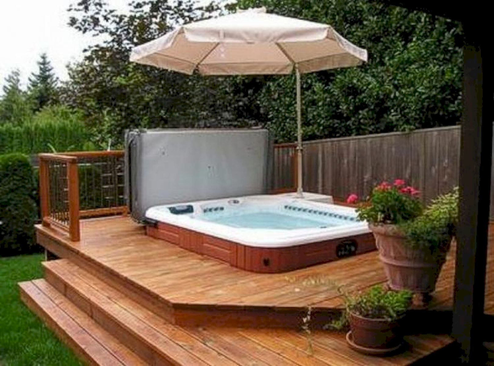 60 Awesome Backyard Privacy Design and Decor Ideas (9)