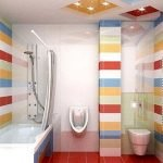 65 Gorgeous Colorful Bathroom Design and Remodel Ideas (30)