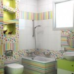 65 Gorgeous Colorful Bathroom Design and Remodel Ideas (5)
