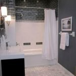 66 Cool Modern Farmhouse Bathroom Tile Ideas (13)
