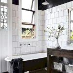 66 Cool Modern Farmhouse Bathroom Tile Ideas (15)